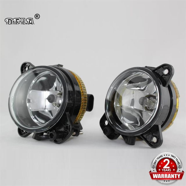 DFLA Car Light For Skoda Fabia 2 MK2 Roomster 2006 2007 2008 2009 2010 Car-styling Front Halogen Fog Light Fog Light With Bulbs
