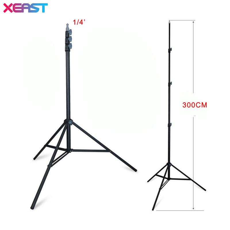 XEAST SPCC en métal Trépied 300 CM/3 M Niveau Laser Trépied Nivel Laser Trépied pour Laser Niveau Réglable Trépied