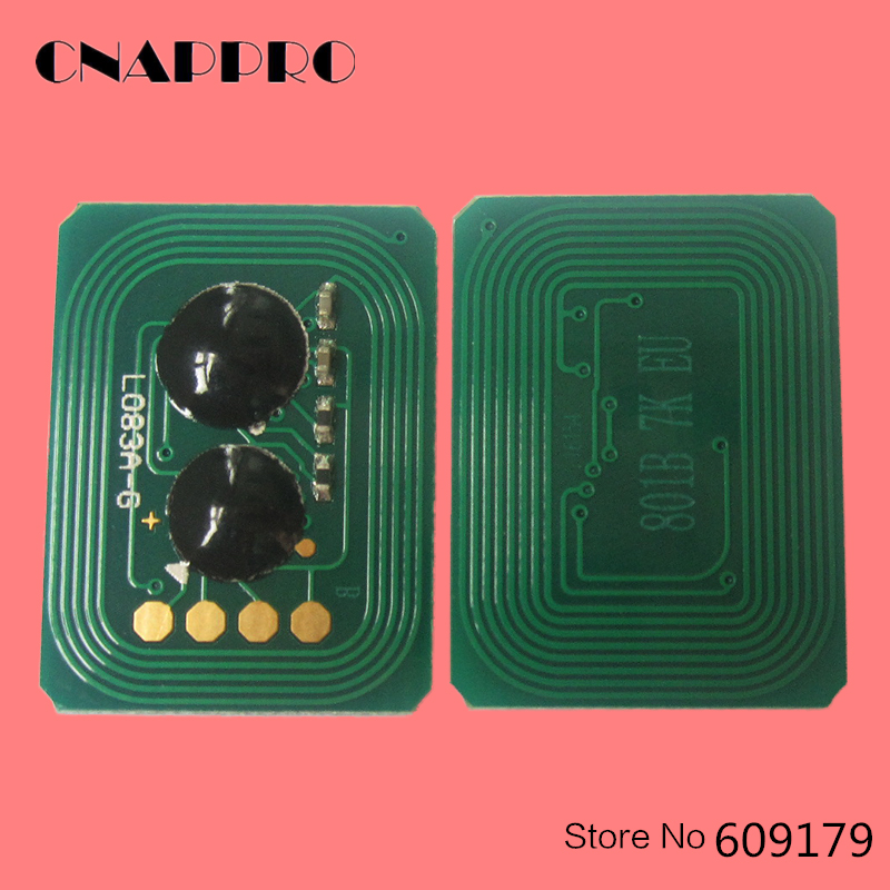 42918904 42918903 42918902 42918901 Printer Toner Chip For OKI Okidata C9600 C9800 Data C 9600 9800