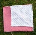 Рождественский подарок Высокое качество seersucker одеяло младенческая Wrap minky детское одеяло новорожденный Пеленание super soft Постельное Белье детские товары