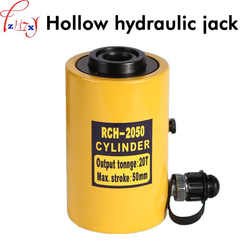 1pc RCH-2050 Hollow hydraulic jack multi-purpose hydraulic lifting and maintenance tools 20T hydraulic jack hollow hydraulic jack rch 2050 multi purpose hydraulic lifting and maintenance tools 20t hydraulic jack 1pc