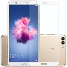 For Huawei P Smart FIG-L21 9H Full Cover Tempered Glass For Huawei Psmart FIG-LX1 Enjoy 7S Screen Protector Protective Film 5.6″