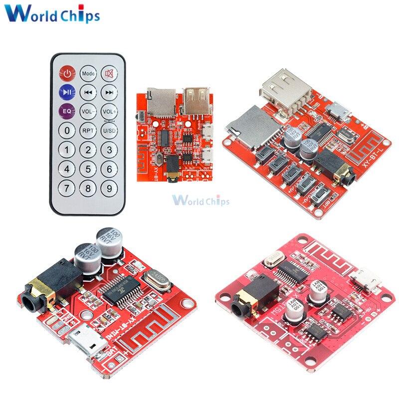 Mini Wireless Bluetooth 4.1 4.2 MP3 Audio Receiver Board Stereo Music Module Mp3 Lossless Decoder Car Speaker Power Amplifier