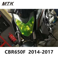 MTKRACING CBR650F CB650F Motorbikes Parts For HONDA CBR 650F CB650 F 2014 2017 Acrylic Headlight Protector