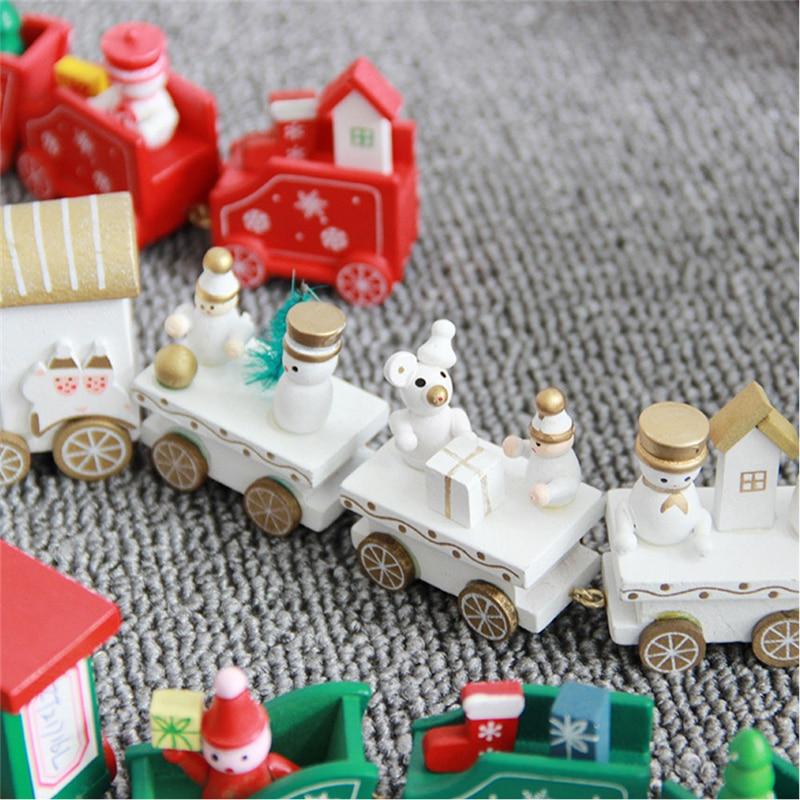 Christmas Wooden Train 2