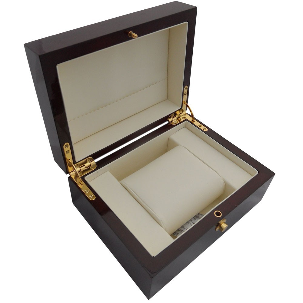 ddb13fad8 Red wooden paint watch box