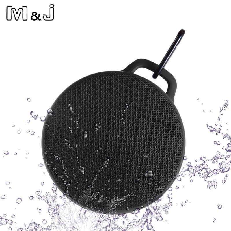 M & J MX7 na zewnątrz bezprzewodowy zestaw słuchawkowy Bluetooth 4.0 Stereo przenośny głośnik wbudowany mikrofon odporność na wstrząsy IPX4 głośnik wodoodporny