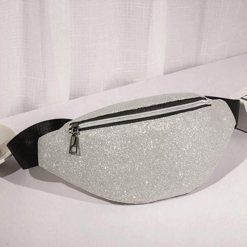 LXFZQ NEW Reflective Waist Pack Holographic Fanny Pack Bolsas Feminina Laser Leg Bag Waist Bags Sac Banane Pink Heuptas Bum Bag
