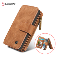Populared Wallet Magnetic PU Leather Case For IPhone SE 5 5S Multi Functional Wallet Case Filp