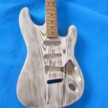 цены Free shipping  ASH electric  guitar body   no painting