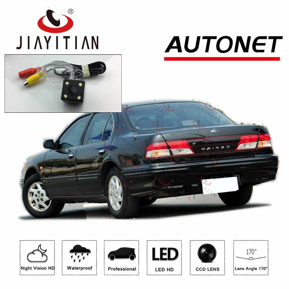 hight resolution of detail feedback questions about jiayitian rear view camera for nissan cefiro a32 for infiniti i30 maxima 1994 1999 ccd night vision license plate camera