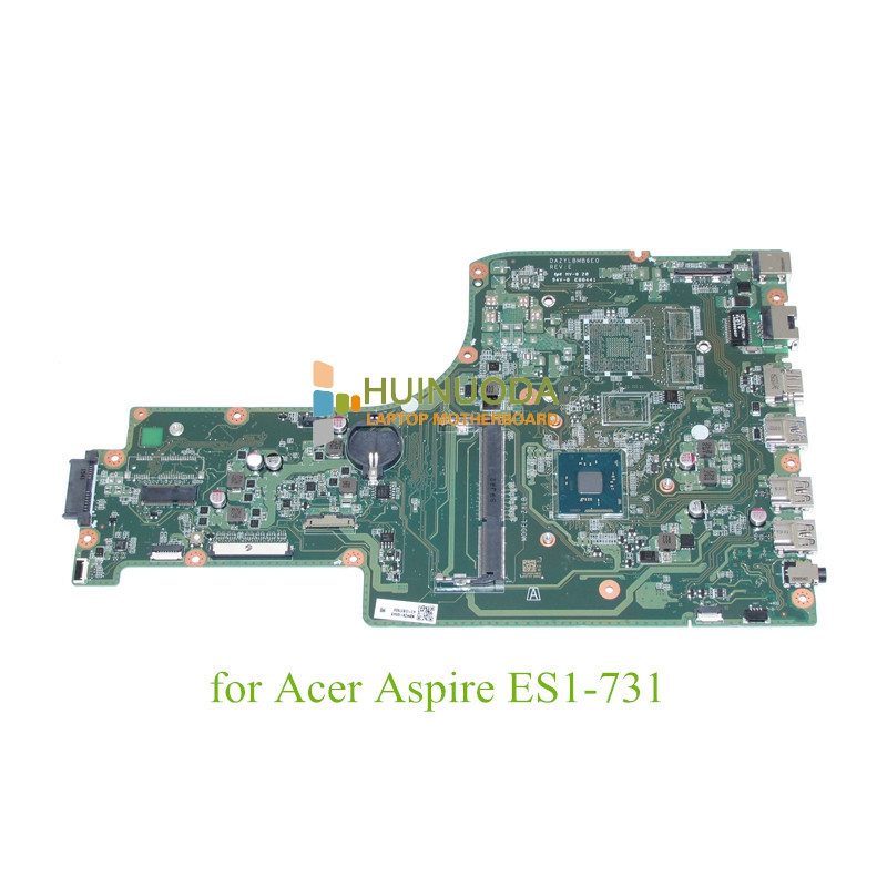 все цены на  DAZYLBMB6E0 REV E NBMZS11004 Laptop mainboard For acer aspire ES1-731 Motherboard N3700 CPU onboard  онлайн