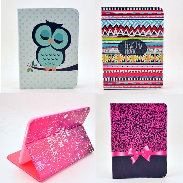 """High Quality Flower pattern PU Leather Stand Cover Case Cover For Samsung Galaxy Tab3 tab 3 10.1"""" P5200 P5210 Tablet Cases"""