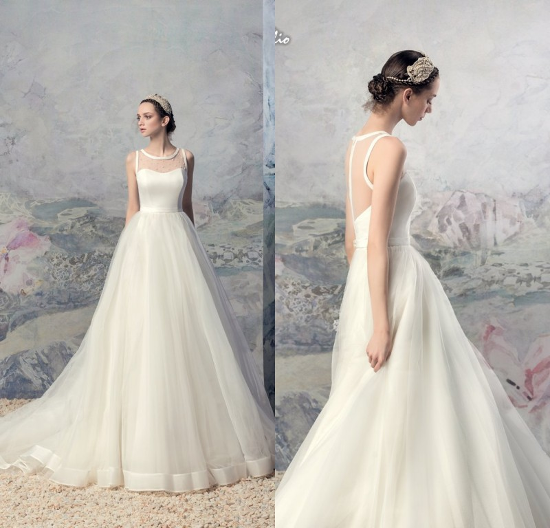 Tan Wedding Dresses Fashion
