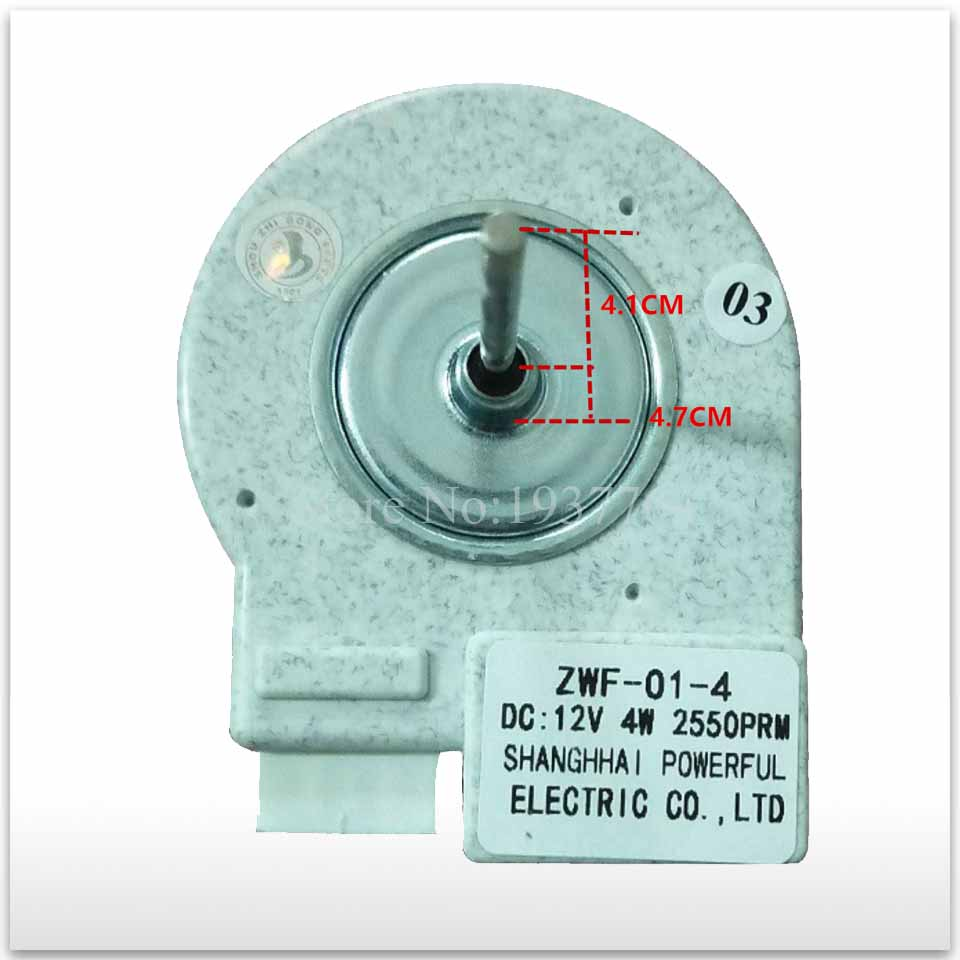 good working High-quality for Refrigerator motor freezer motor BCD-251WFC ZWF-01-4 new good working for refrigerator ventilation fan motor dla5985hacc 0064000945 bcd 628wabv reverse rotary motor