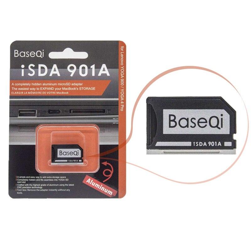 For LENOVO YOGA900/Yoga710/Yoga720/ideapad/Yoga3 Card Drive BASEQI Aluminum Minidrive Microsd Card Adapter/Card Reader 901A