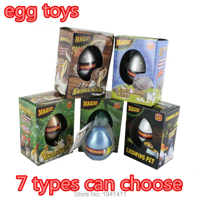 Eggs Building Toys For Boys : Pcs lot large size cm magic growing fun animal dragon