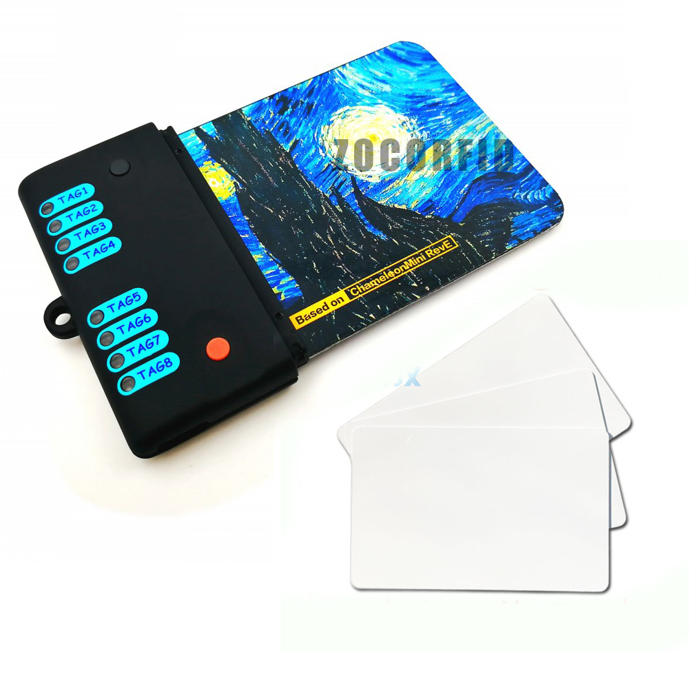 Newest 13.56MHZ ISO14443A Chamele Mini RDV2.0 Kits RFID Copier Duplicator UID13.56MHZ NFC Card Cloner