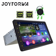 JOYFORWA 8″ single din Android 8.0 Octa Core GPS HD touch screen car multimedia support Carplay/ steering wheel control/DVR/OBD