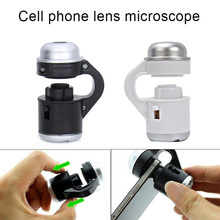 Mobile Phone Microscope Telescope Camera Clip Lens 30x Zoom