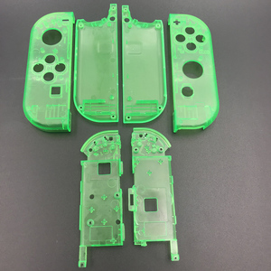 Image 5 - 10sets Plastic Joy Con Housing Case Cover For Nintendo Switch Clear Custom Controller Shell Colorful Buttons