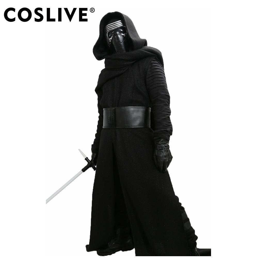 XCOSER Kylo Ren Costume V3 The Force Awakens Cosplay Villain Deluxe - Disfraces