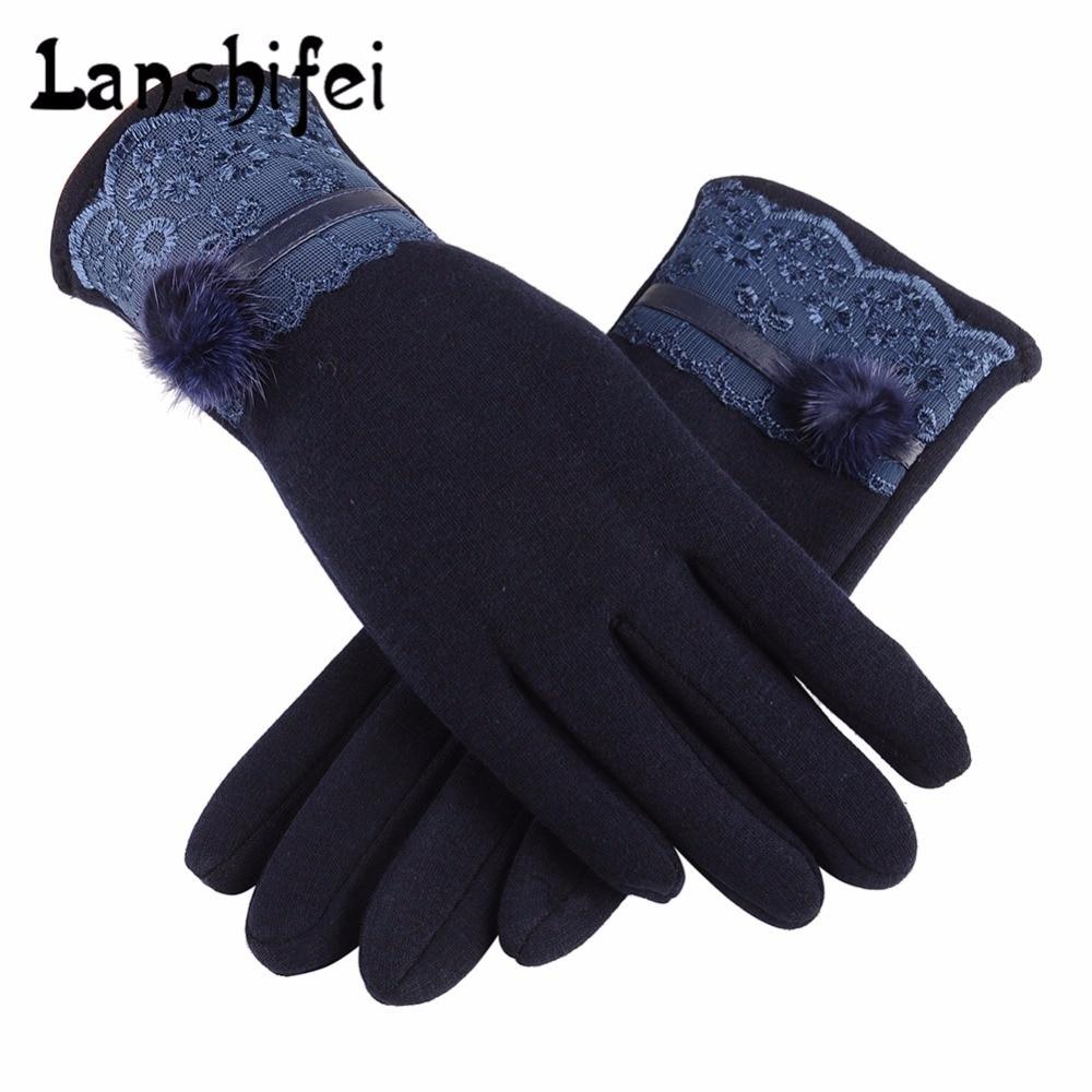 Unisex Cyclingscreen Gloves Winter Fleece Warm Waterproof Running Skiing