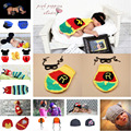 Crochet Iron Man Newborn Baby Photo Props Knitted Baby Boy Super Hero Costume Photography Prop Baby Accessories hat MZS-15043