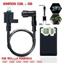 Катушка зажигания + cdi подходит для honda trx250x fourtrax