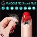 Jakcom N2 Elegante Empujadores de Cutícula Nail Nuevo Producto De Belleza de La Salud Como Palos De Madera Cuchillo De Cuero Redondo Pousse Cutícula