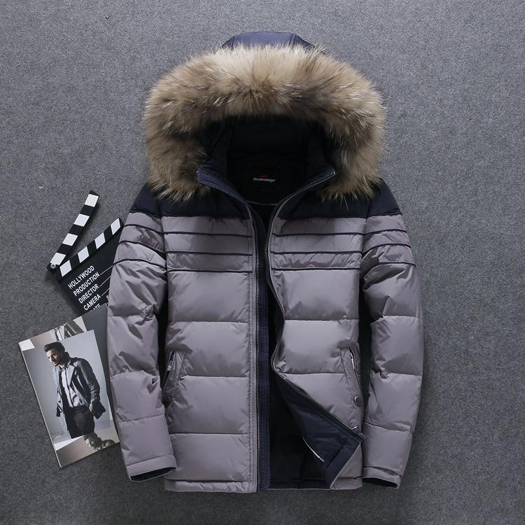 Winter donsjack mannen Europa en VS min 40 graden warme eend donsjack - Herenkleding - Foto 4