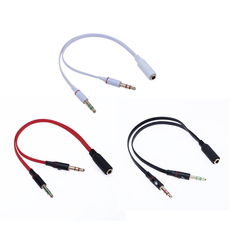 US $0 94 3 5mm Aux Cable 1 Male 2 Famle Cable For Laptop