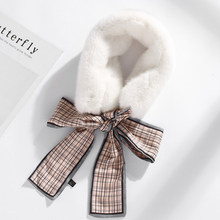 цена на MIARA.L Seto rabbit hair web celebrity scarf female Korean version shake sound wool scarf wool ribbon wool collar for children