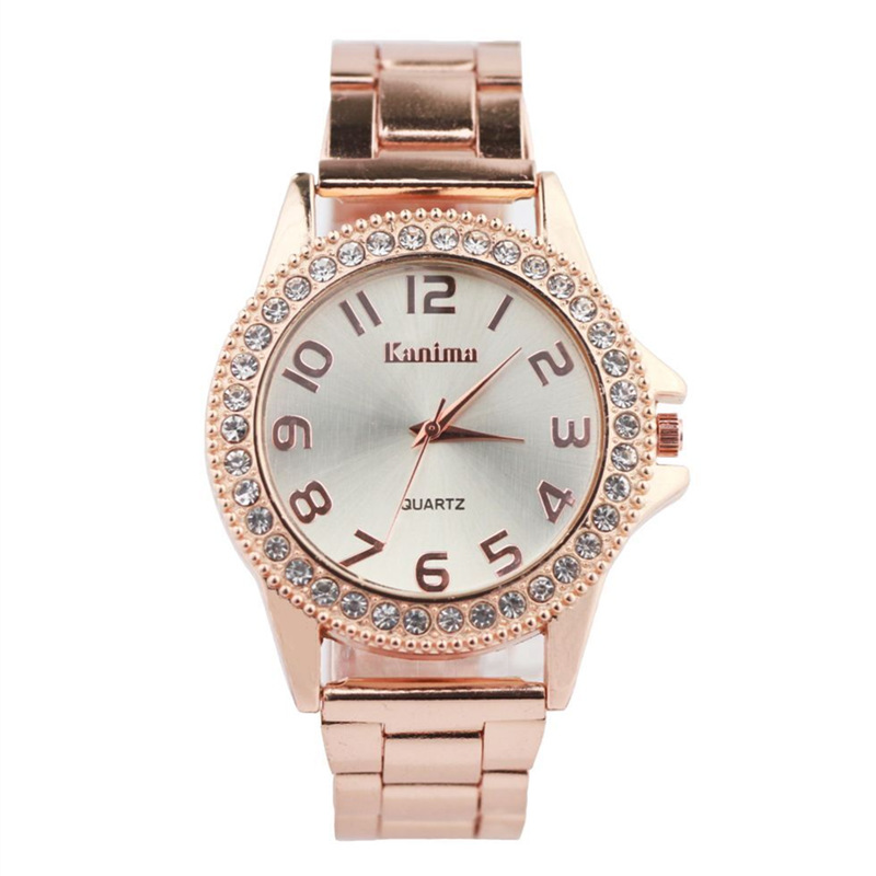 New Fashion Casual Kvinder Watch Relogios Feminino Luksus Brand - Dameure - Foto 4