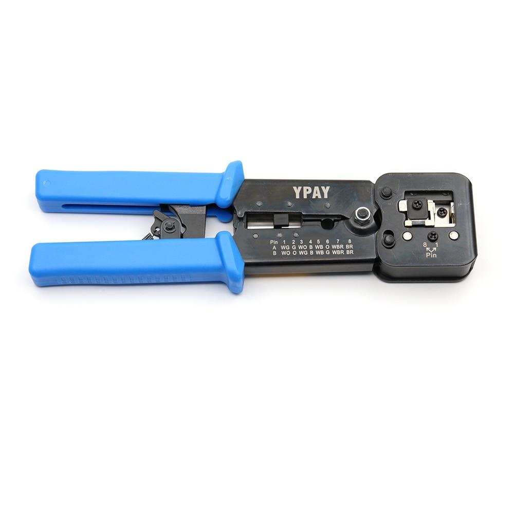 מזגנים רצפתיים ypay EZ כלי רשת מלחץ יד RJ45 כבל צבת RJ12 CAT5 CAT6 8P 6P RJ 45 חשפנית לחיצה מלקחיים מהדק תכליתי קליפ (2)