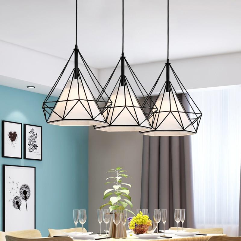 Birdcage pendant gaismas mūsdienu dzelzs minimālisma retro gaismas Skandināvijas bēniņu piramīda lampa metāla būris diametrs 25 / 38cm