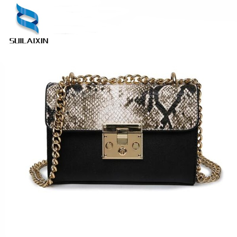 Snake Bags For Women Fashion Shoulder Bags Small Chain Messenger Crossbody Bags Snake Leather Brand Designer Crossbody Flap Bag famous messenger bags for women fashion crossbody bags brand designer women shoulder bags bolosa
