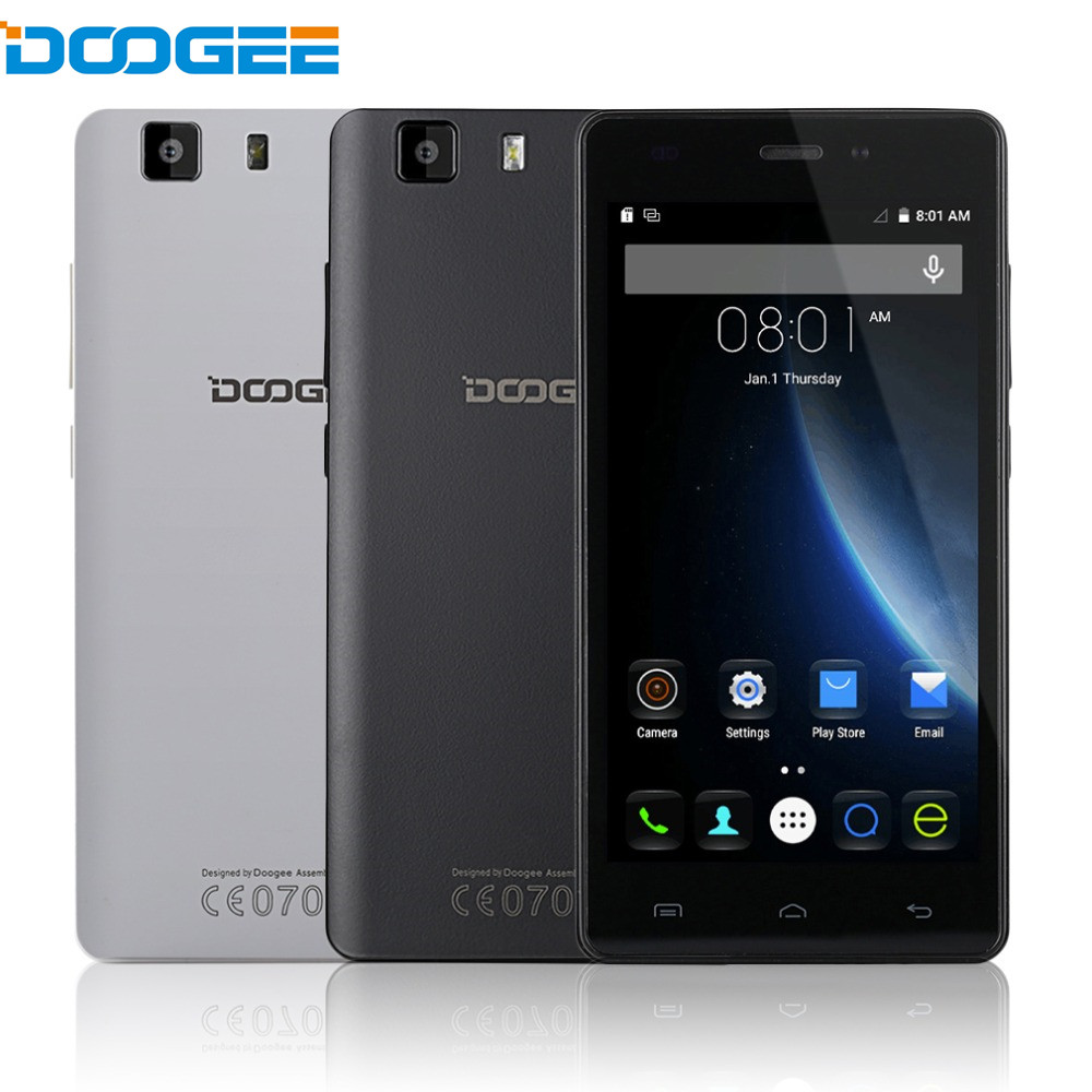DOOGEE X5 Pro 5.0 inch Quad Core 4G LTE Smartphone Android 5.1 2GB RAM 16GB ROM MTK6735P 5MP 1280x720 Mobile Phone