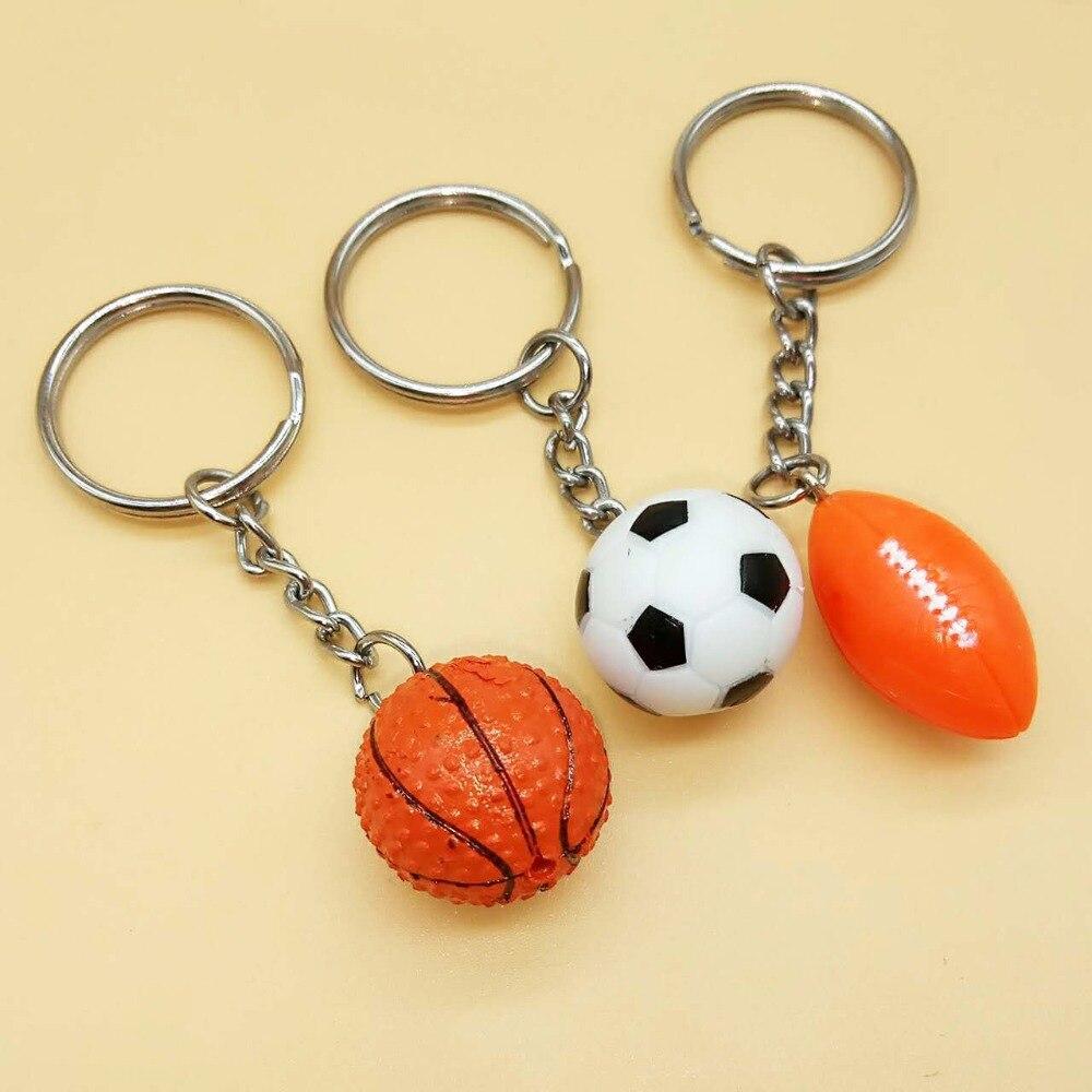 Soccer Dolls with Keychain Sports Activities Souvenir Toys for Boy Football Figure Dolls Soccer Volleyball Basketball Football