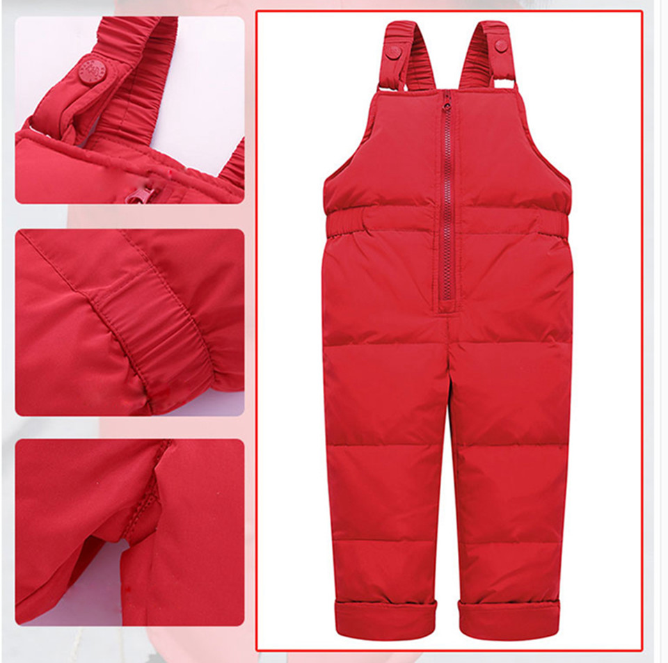 1-3-_10  Kids's Clothes Winter Lady Go well with Ski Jacket -30 Diploma Russian Boys Ski Sports activities Down Jacket +Jumpsuit Units Thicker Overalls HTB12Z4IFDlYBeNjSszcq6zwhFXaW