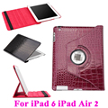 Hibernate Флип Кожаный Tablet PC Крокодил Зерна Case для Apple iPad 6 iPad Air 2 Крышка Защитная Крокодил Pattern Корпус мешок