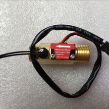 G1/2 Temperature-Measurement Hall-Flow-Rate-Meter NEW Brass NTC B7
