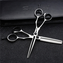 7 inch Professional haircut A Scissor Hairdresser Cut 5.5 inch Hair Stylist Hair cutting thinning shears logo engraving