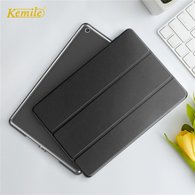 Kemile For iPad Air 3 10.5 Case Ultra Slim Simplism Wake Up Leather Stand Smart Cover For iPad air 10.5 2019 For iPad Pro 10.5 цена и фото
