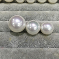 12MM Big Beads Natural Shell Pearl Studs Earrings With 925 Sterling Silver Mother Of Pearl Fashion Women Jewelry Free Shipping