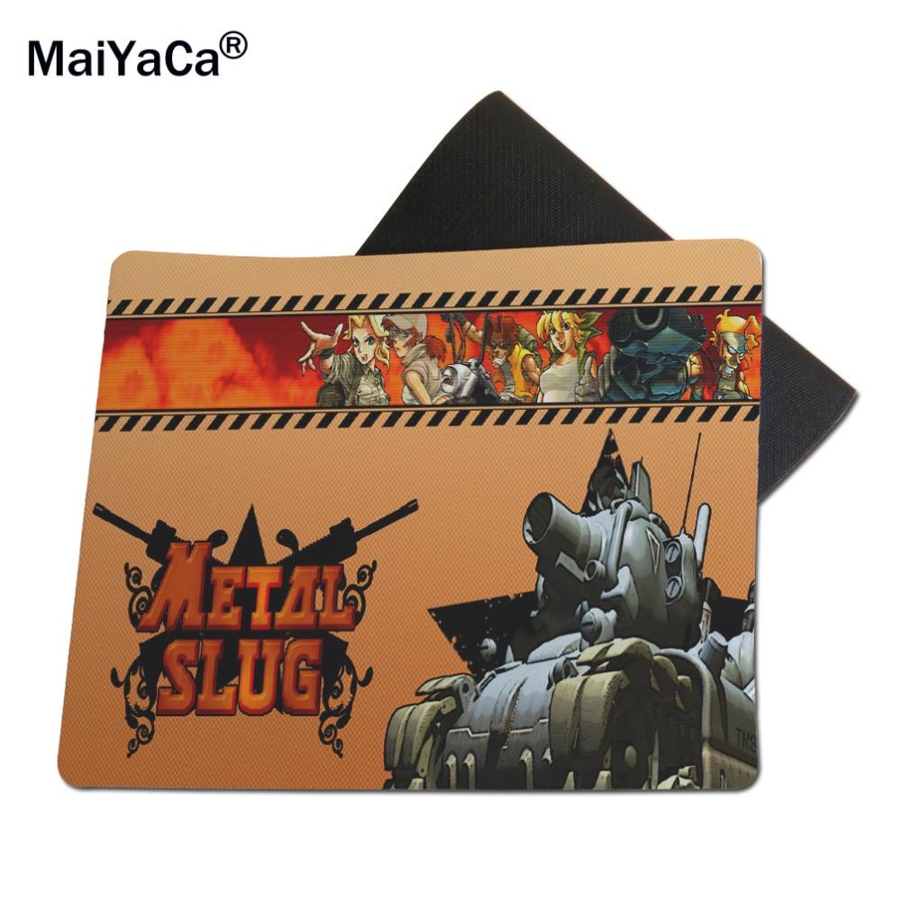 MaiYaCa Metal Slug Cool Game Custom MouseMats Rubber Pad 18*22cm and 25*29cm