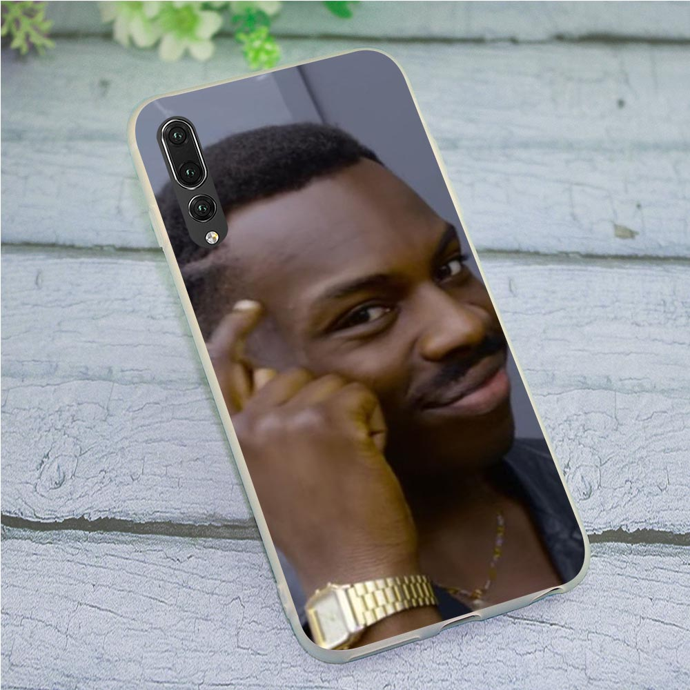 Case for Huawei P8 Lite 2015 Zhdun Wooing Meme Phone Cover for P9 P10 P20 P30 P Smart 2018 2019 Mate 10 20 Pro image