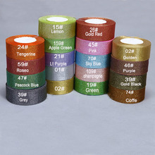 Glitter 5rolls Ribbon Packing