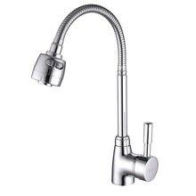 SHAI robinet mitigeur en laiton eau froide et chaude   Robinet de cuisine, robinet de cuisine évier multifonction corps en laiton chromé robinets d'évier SH3201
