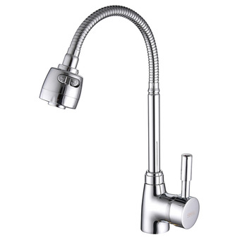 SHAI Brass Mixer Tap Cold And Hot Water Kitchen Faucet Kitchen Sink Tap Multifunction  Brass Body Chrome Sink Faucets SH3201 brass mixer tap cold and hot water kitchen faucet multifunction brass body chrome sink faucets kitchen sink tap